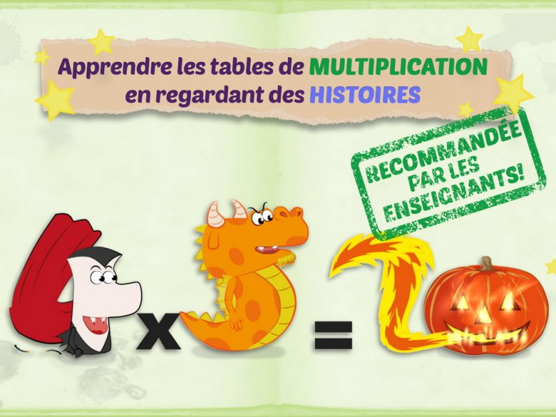 Slimcricket - Application pour apprendre les tables de multiplication ...
